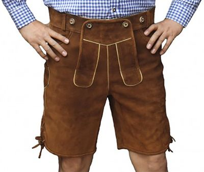 Trachten Bavarian Shorts Made Of Wildleder