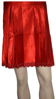 Dirndl Apron ,Traditional Apron Colour: Red