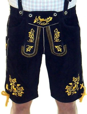 Bavarian Shorts Miesbacher With Suspenders