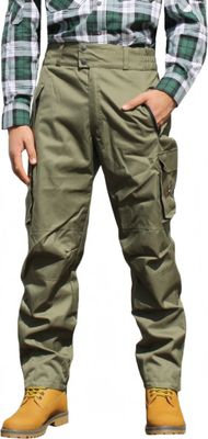 Long Hunting Trousers Textil Stitchery hunting green – image 1
