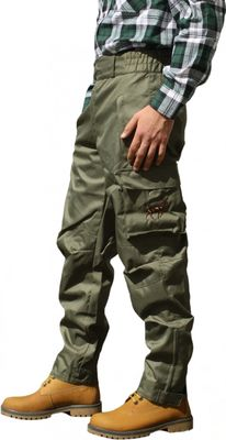 Long Hunting Trousers Textil Stitchery hunting green – image 2