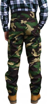 Long Hunting Trousers Textil Stitchery Military Pattern – image 2