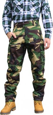 Long Hunting Trousers Textil Stitchery Military Pattern – image 1