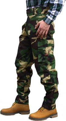 Long Hunting Trousers Textil Stitchery Military Pattern – image 3