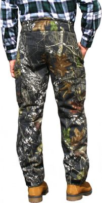 Long Hunting Trousers Textil Stitchery forest pattern – image 2