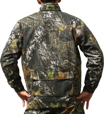 Hunting Jacket Textile Forest Pattern Deer Stitchery – image 2