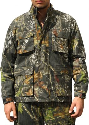 Hunting Jacket Textile Forest Pattern Deer Stitchery – image 1