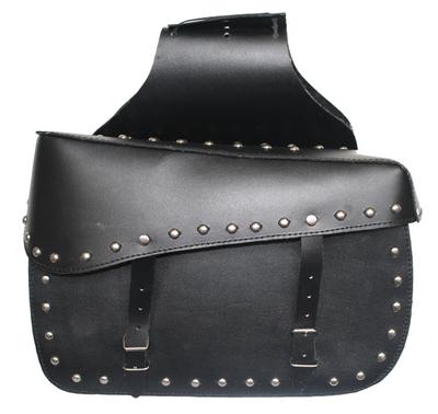 German Wear, Motorrad Satteltasche saddlebag aus Büffelleder – Bild 1