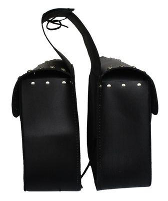 German Wear, Motorrad Satteltasche saddlebag Tasche aus Büffelleder – Bild 2