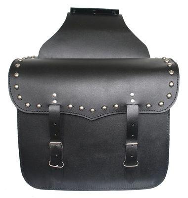 German Wear, Motorrad Satteltasche saddlebag Tasche aus Büffelleder