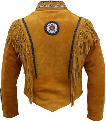 Western Leather Indian Western Carnival Fasching Jacket. – image 2