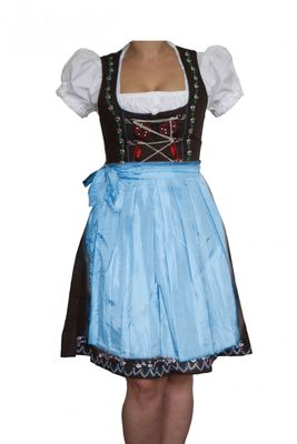 Three Pieces Midi-Dirndl Dress Set – image 1