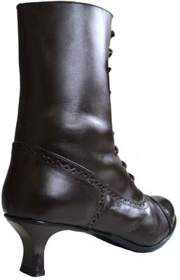Trachten boots, glazed leather,Color: dark Brown – image 5