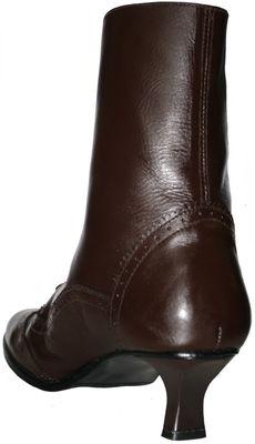 Trachtenboots glazed leather,Color: dark Brown – image 4