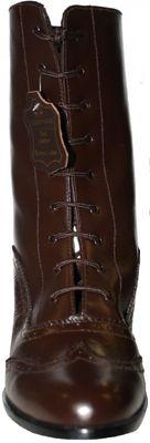Trachtenboots glazed leather,Color: dark Brown – image 3