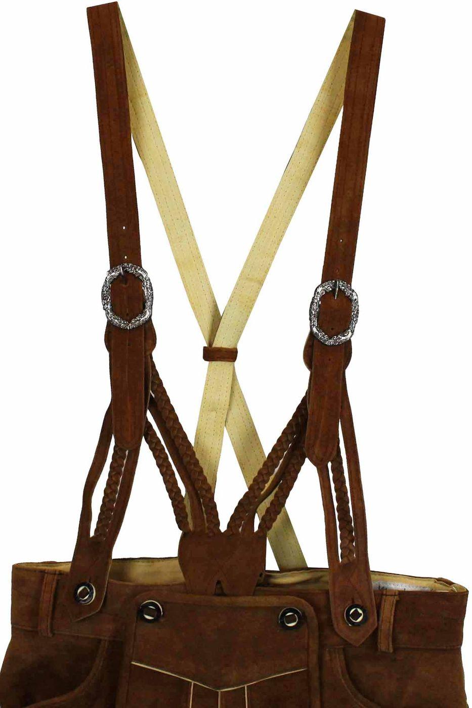 attractivedesigns huge discount stylish design Bavarian leather Suspenders Braces V-suspenders
