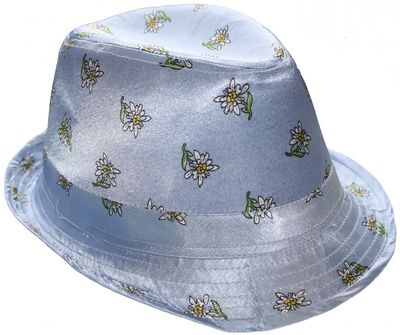 bavarian Hat Trachtenhat Bavaria Seppelhut Sepplhut Oktoberfest,Colour: light Blue – image 1