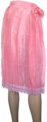 Long DirndlApron Long Apron Trachtenapron,Colour:Pink
