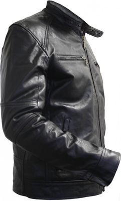 Men Leather jacket lamb