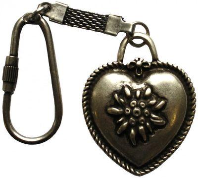 Schlüssel anhänger Herz  Metall