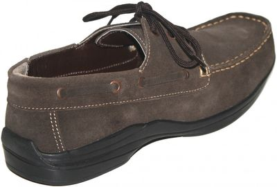 Low Shoes made of real Suede Leather,Color:dark Brown – image 2