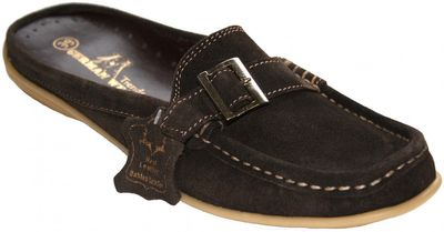 Low Shoes Mocassins Driving Shoes Suede Cowhide,Color:dark Brown – image 1
