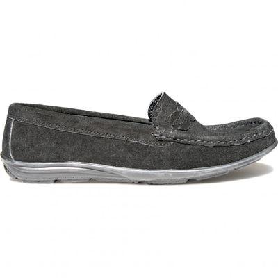 Low Shoes Mocassins Driving Shoes Suede Cowhide,Color:Black – image 2
