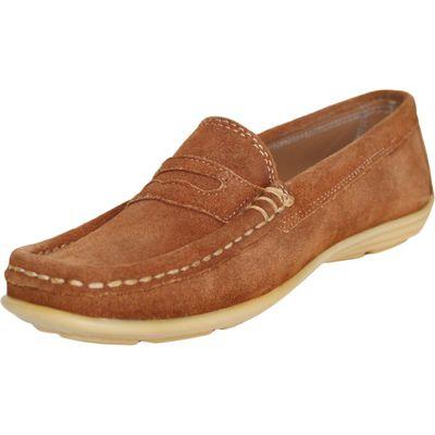 Low Shoes Mocassins Driving Shoes Suede Cowhide,Color;Chestnut Brown – image 6