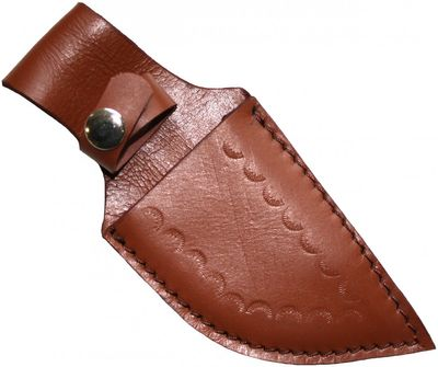 Brown Knife Sheath made of real leather