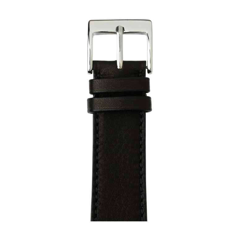 Cinturino Apple Watch in pelle sauvage nero | Roobaya – Bild 1