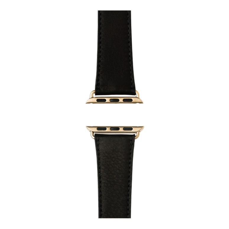 Apple Watch band sauvage leather black | Roobaya – Bild 4