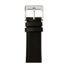 Cinturino Apple Watch in pelle sauvage nero | Roobaya