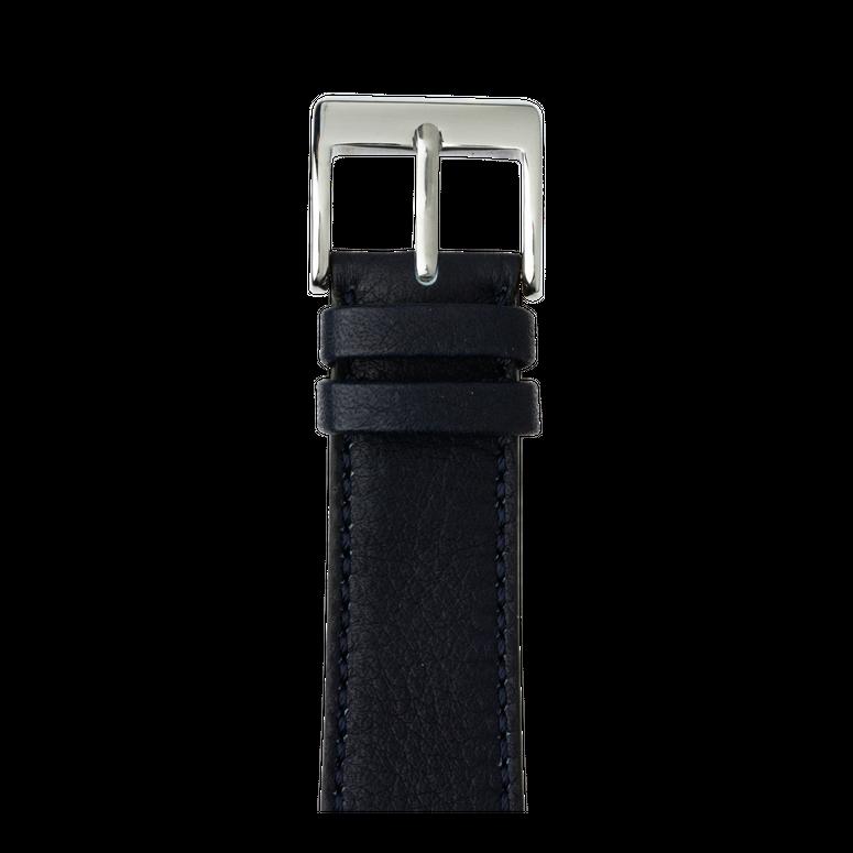 Bracelet Apple Watch cuir sauvage bleu foncé | Roobaya – Bild 1