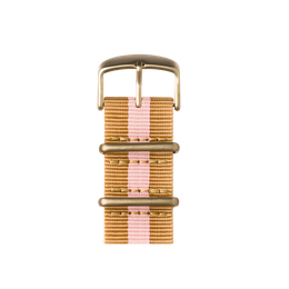 Apple Watch band NATO nylon sand/light pink | Roobaya