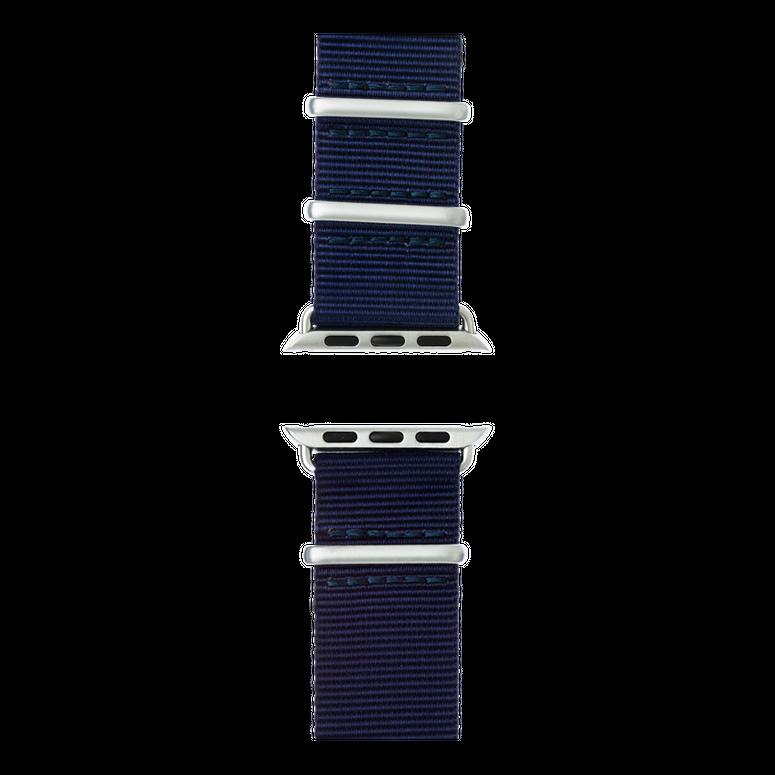 Bracelet Apple Watch nylon Nato bleu foncé | Roobaya – Bild 5