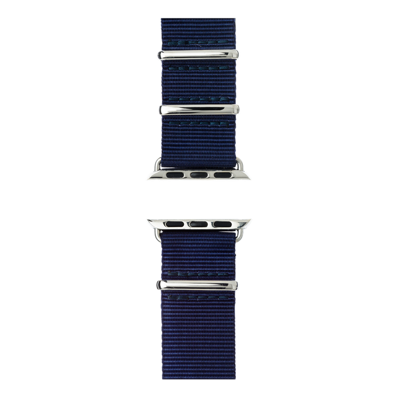 Apple Watch band NATO nylon dark blue | Roobaya – Bild 5