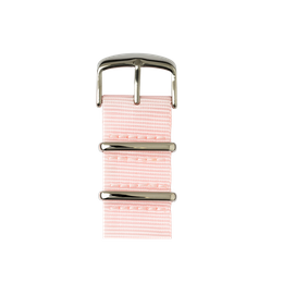 Apple Watch band NATO nylon light pink | Roobaya