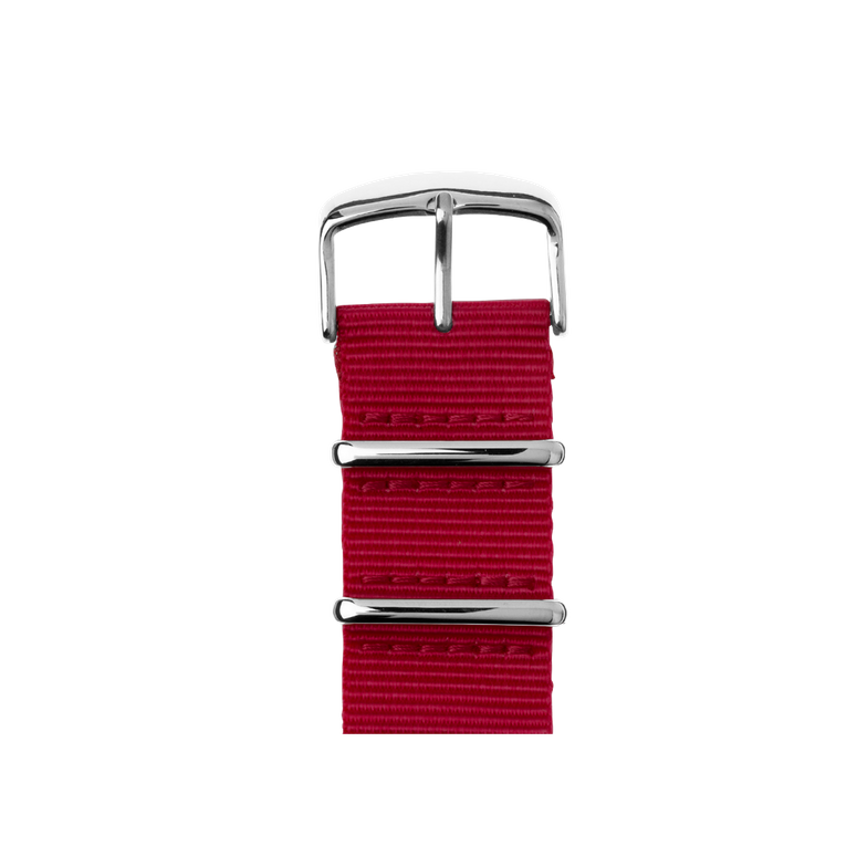 Apple Watch band NATO nylon cherry | Roobaya – Bild 1