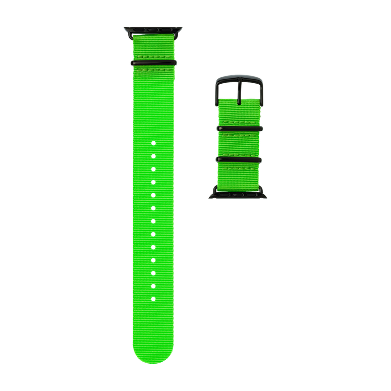 Apple Watch band NATO nylon light green | Roobaya – Bild 4
