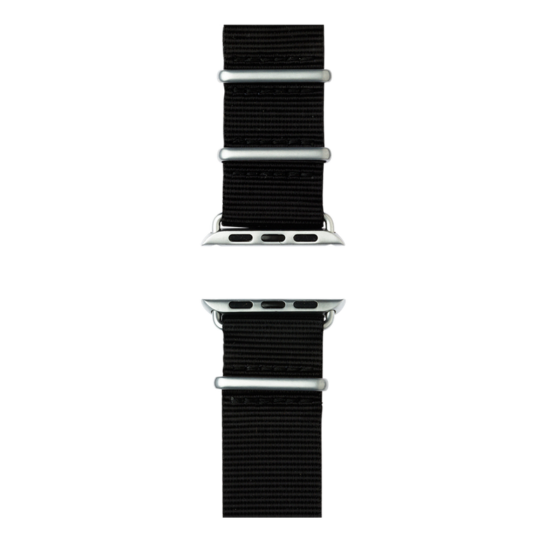 Apple Watch band NATO nylon black | Roobaya – Bild 5