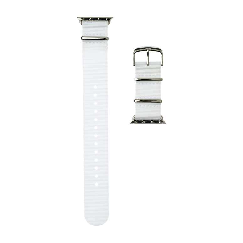 Apple Watch band NATO nylon white | Roobaya – Bild 4