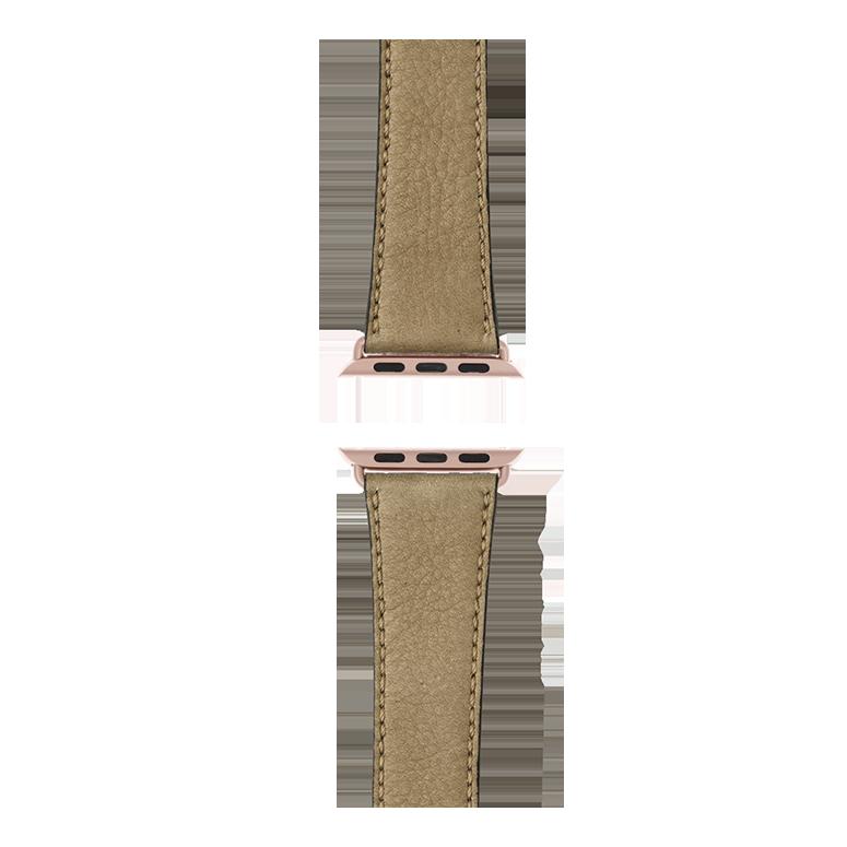 Apple Watch band sauvage leather light gray | Roobaya – Bild 4