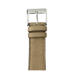 Correa para Apple Watch de piel sauvage en gris claro | Roobaya
