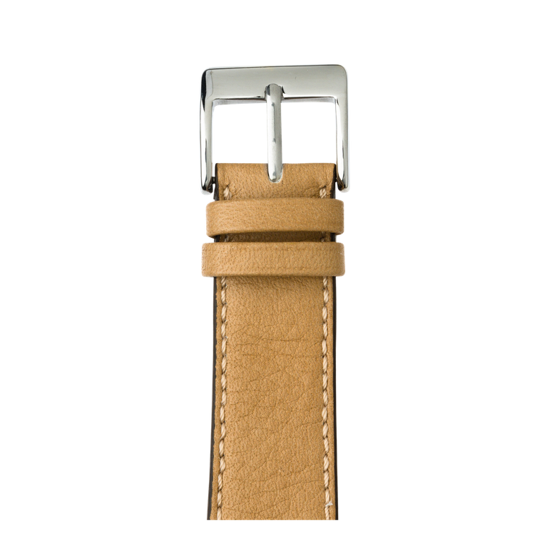 Bracelet Apple Watch cuir sauvage sable | Roobaya – Bild 1