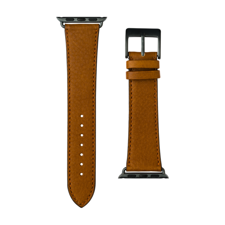 Apple Watch band sauvage leather cognac | Roobaya – Bild 3