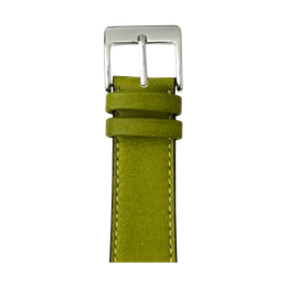 Apple Watch band sauvage leather moss green | Roobaya