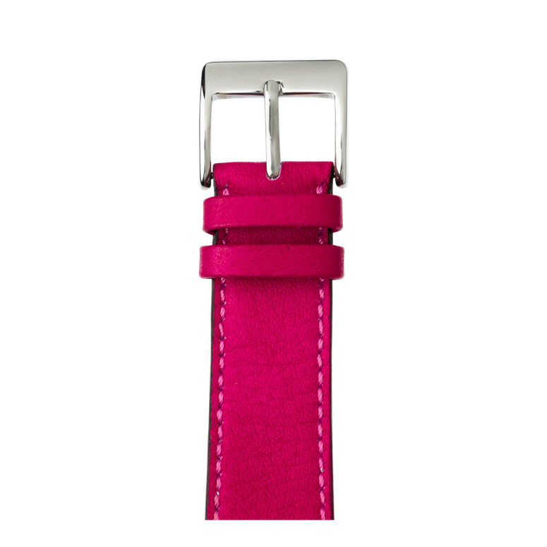 Apple Watch band sauvage leather pink | Roobaya – Bild 1