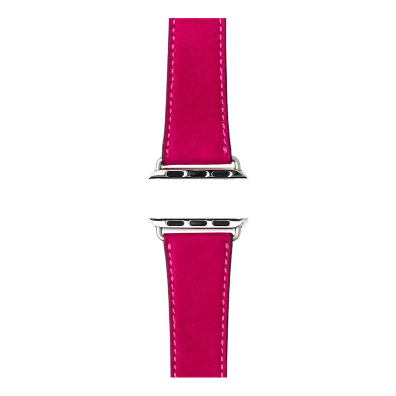 Apple Watch band sauvage leather pink | Roobaya – Bild 4