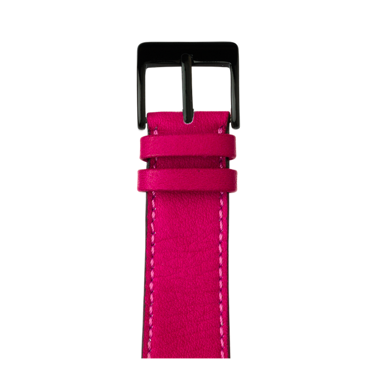 Cinturino Apple Watch in pelle sauvage rosa | Roobaya – Bild 2