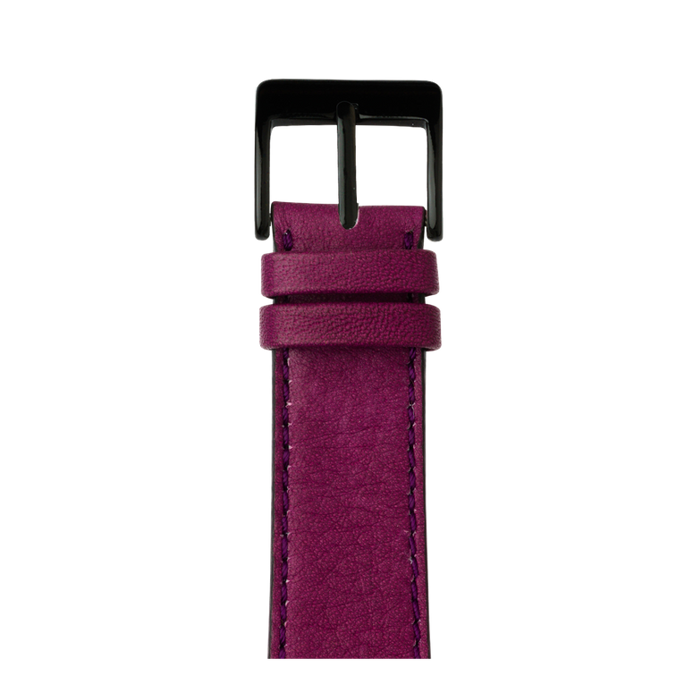Apple Watch band sauvage leather purple | Roobaya – Bild 2